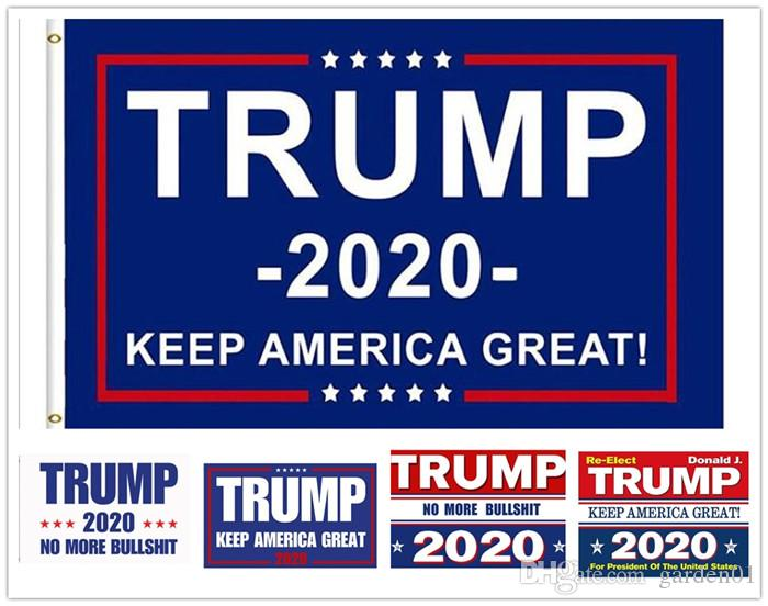 10 قطع 90 * 150 سنتيمتر ترامب 3x5 العلم 2020 إبقاء أمريكا العظمى دونالد للرئيس usa الأمريكية 2020 الرئاسية أعلام الانتخابات g355