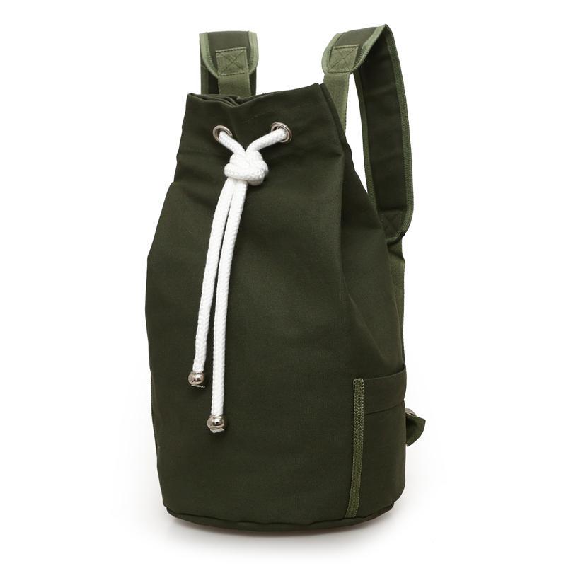 2017 Nuovo Outdoor Sport Basket Bag Canvas Grande capacità Bucket Bag Football Balls Pack Nero Mens zaino J761420