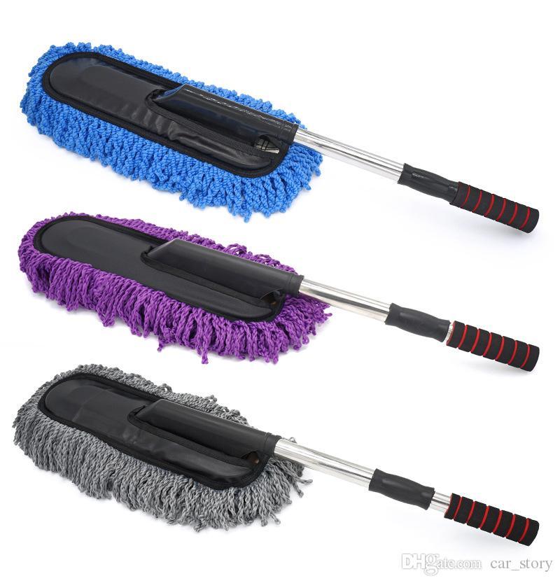 Pára-brisas do carro de Limpeza Escova De Toalha De Brilho Cuidados Removedor de Poeira Auto Home Janela De Vidro Mais Limpo