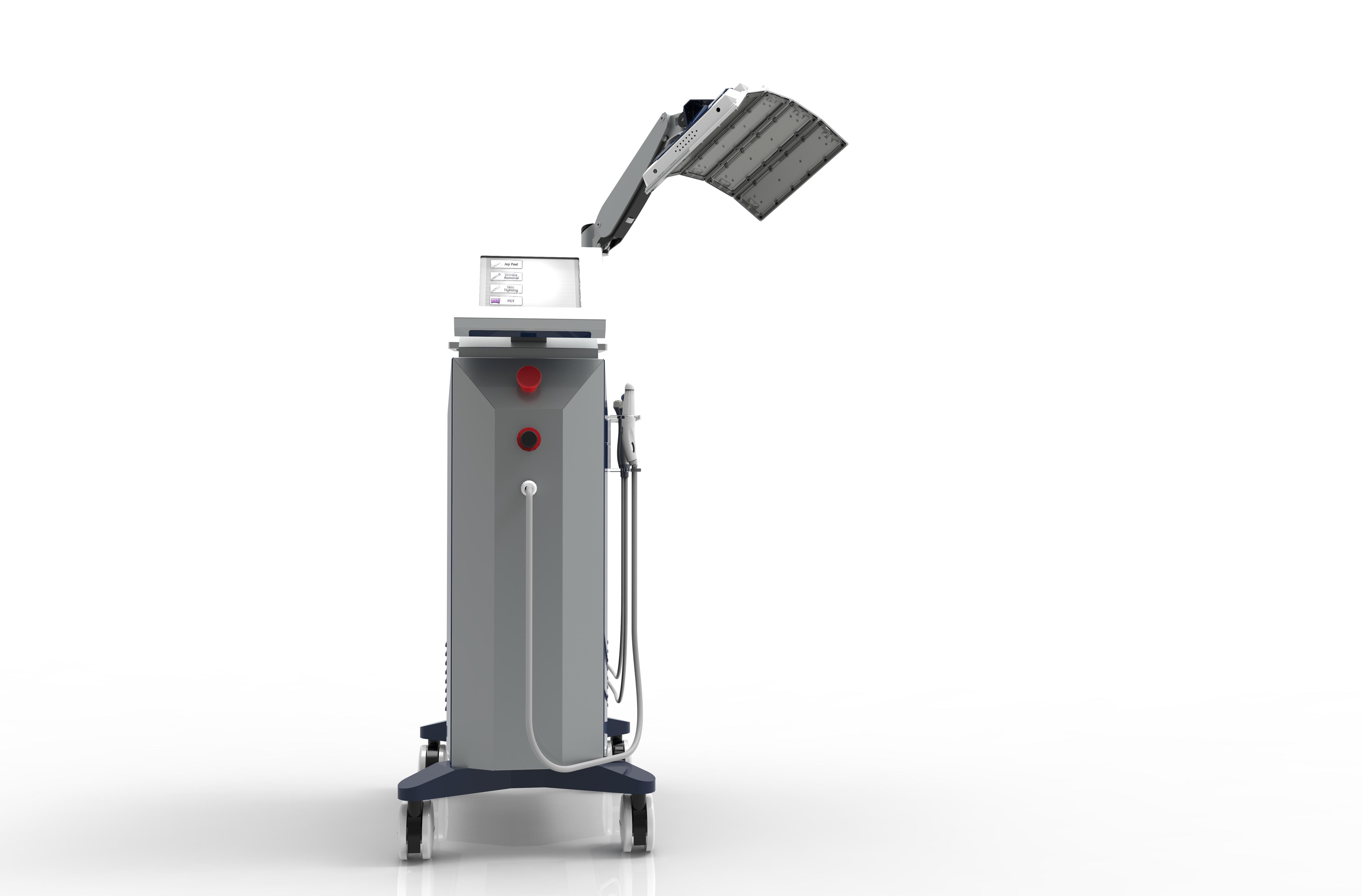 Rejuvenescimento hidratante da pele que aperta o equipamento da beleza do alvejante com terapia de oxigénio e equipamento do rejuvenescimento da pele do diodo emissor de luz de PDT