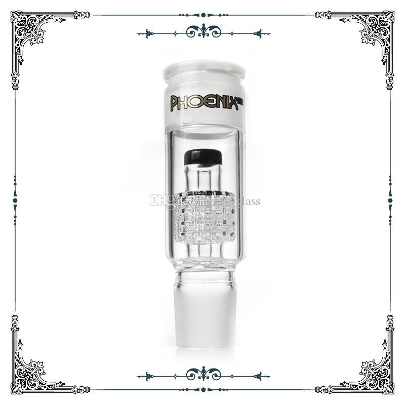 Accessorio in vetro Adattatore Matrix Perc Fit # 34 Maschio Femmina Strumento Standard Dimensioni ginnastica percolatore di vetro per fumo di vetro Pipes Acqua Bongs Accessori