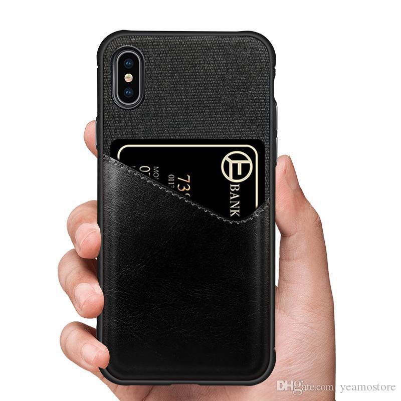 Сплайсинг кожаный чехол броня гибридный чехол для iphone X XS XR XS MAX телефон чехол слот для карты броня противоударный силиконовый чехол