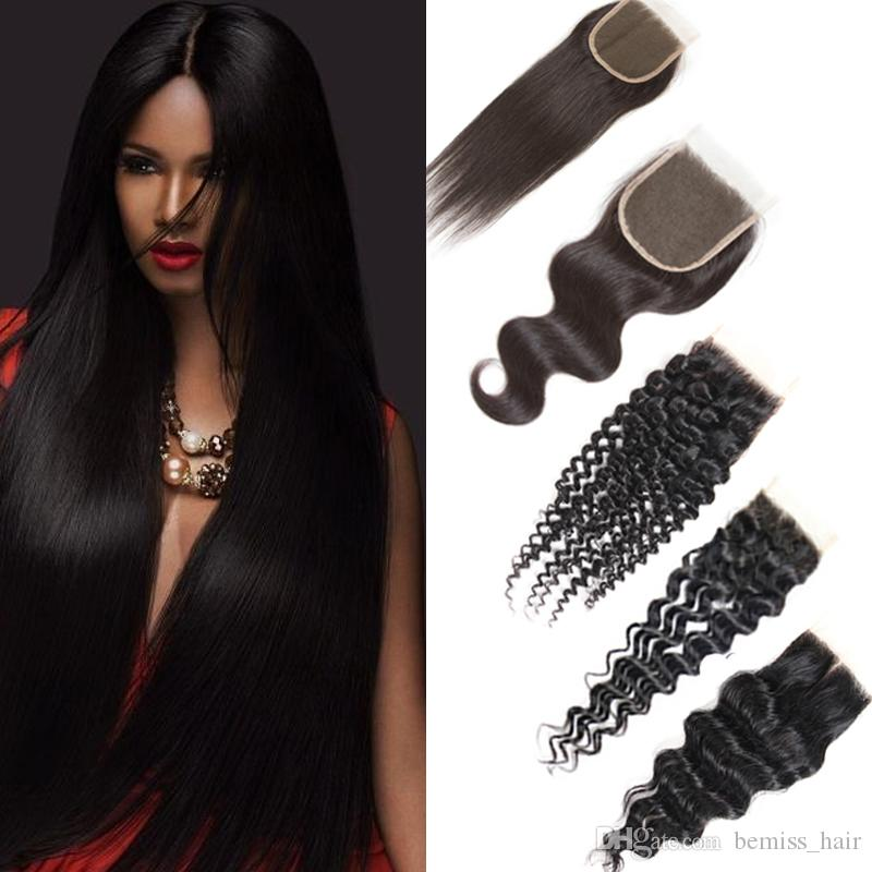 Brazilian Human Hair Bundles Deep Wave Straight Kinky Curly Unprocessed Virgin Hair Bundles with Closures Water Body Wave Hair Extensions