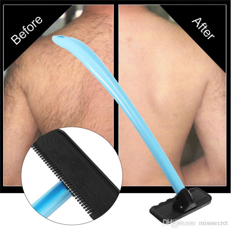 دليل العودة مزيل الشعر ماكينة حلاقة الجسم المتقلب السلامة ماكينة الحلاقة الذاتية الجسم / عودة الساق إزالة الشعر الحلاقة آمنة وعملية