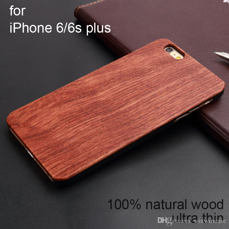 Luxe origanal Rosewood Cas de téléphone cellulaire en bois pour iPhone 6 7 8 Plus X 11 Pro Max
