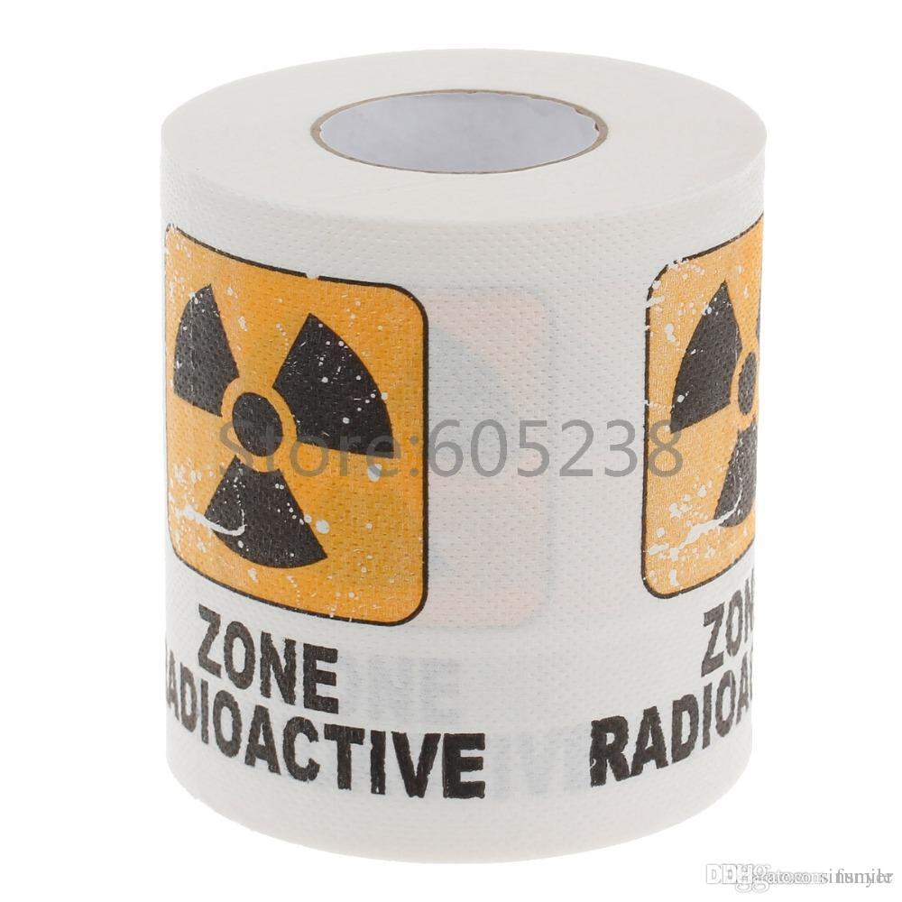 2020 Wholesale Toxic Nuclear Toilet Paper Novelty Printed Zone Radioactive Napkin Paper Home Toilet Tissue From Funyer 33 58 Dhgate Com