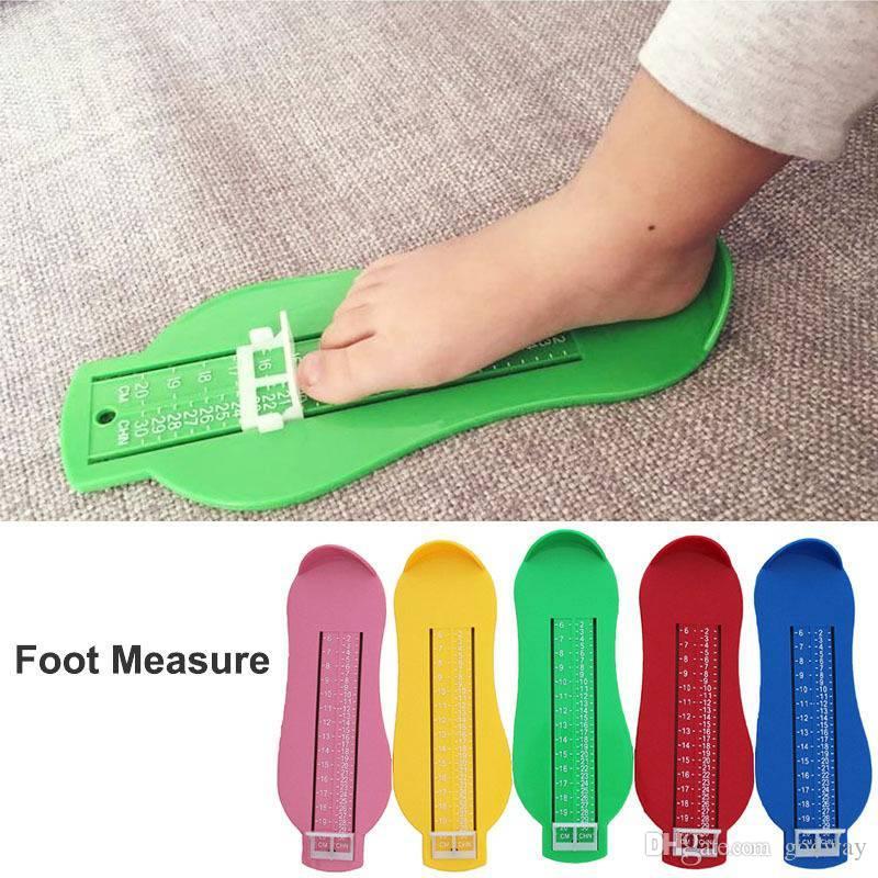 Baby Kinder Fußmessgerät Schuhgrößen Schuhgrößen Fuß Messgerät ABS ye