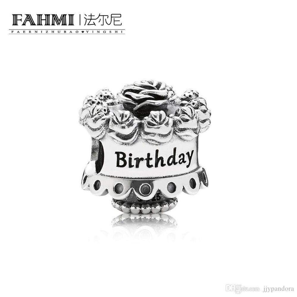 Fahmi 100% 925 Sterling Silver 1: 1 Oryginalny 791289 Autentyczny Temperament Moda Glamour Retro Bead Wedding Women Jewelry