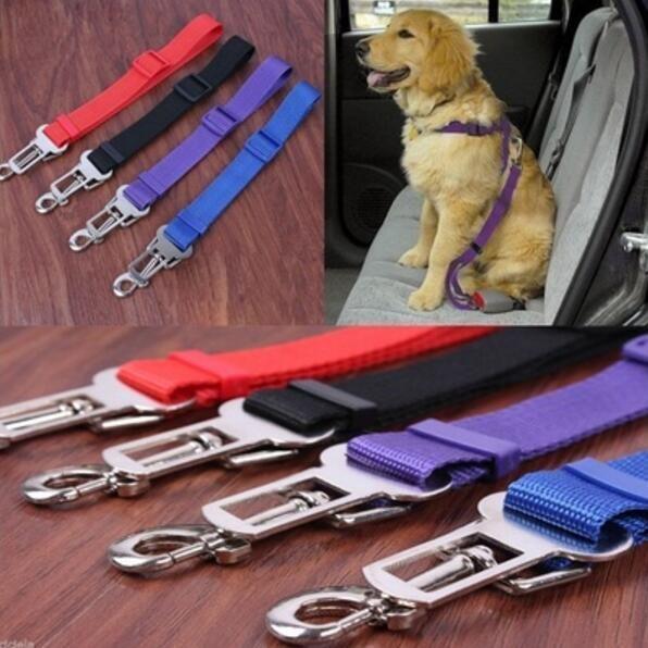 Ev Kedi Köpek Pet Emniyet Araba Araç Kayış Emniyet Kemeri Emniyet Kemeri Ayarlanabilir Demeti Kurşun Malzemeleri 3893