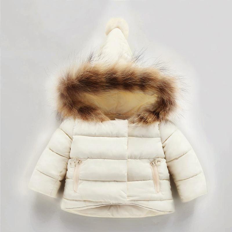 0-7 Jahre alt Baby Winter Mäntel Jacken Jungen Mädchen Hand Plug Of Cotton Baumwolle gefütterte Kinder Winter Daunenjacke Factory Cost Billig Wholesale
