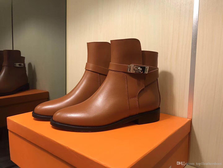Marque Marque D'hiver Femme Chaussures Cher Acheter Chaussures Designer Biker Nouvelles Chaussures De Boots Cuir Bottines Moto Femmes KELLY Pas De LMUVpGSzq
