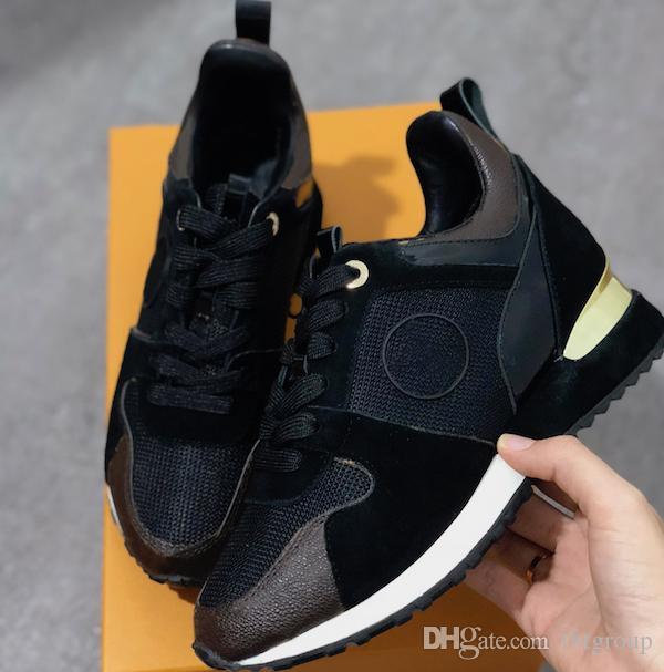 ÇALIŞMA UZAK Kadın Gerçek deri ayakkabı erkek spor Sneakers Kadın ruinng ayakkabı Flats Casual eğitmenler Ayakkabı sneakers