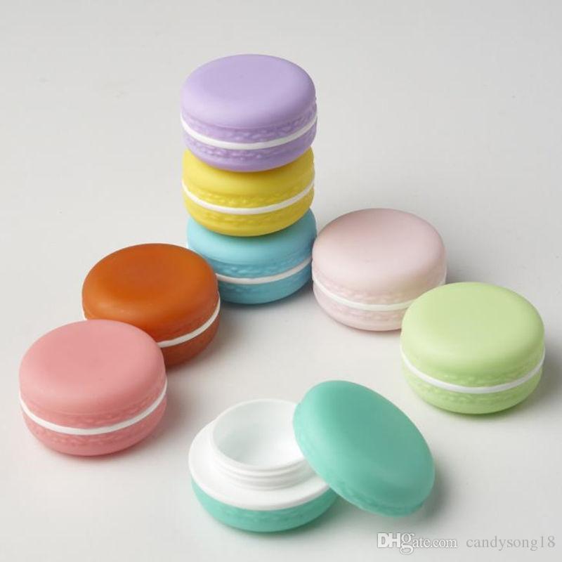 Конфеты цвета Macarons пустые косметические контейнеры Помада для губ держатель бальзама DIY суб-разливочные крем банки быстрая перевозка груза F1258
