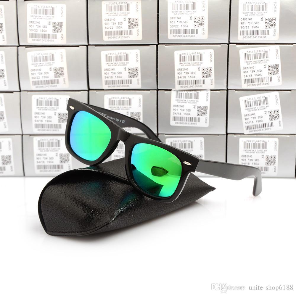 New top quality Plank sunglasses women glass lens men sun glasses Color lens sport glasses Brand sunglasses unisex Glasses with original box