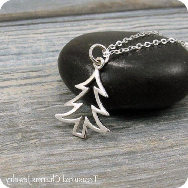 Simples árvore de natal oco pulseira sorte vida árvore pingente pulseira oca planta grande árvore pulseira para o natal melhor presente de jóias