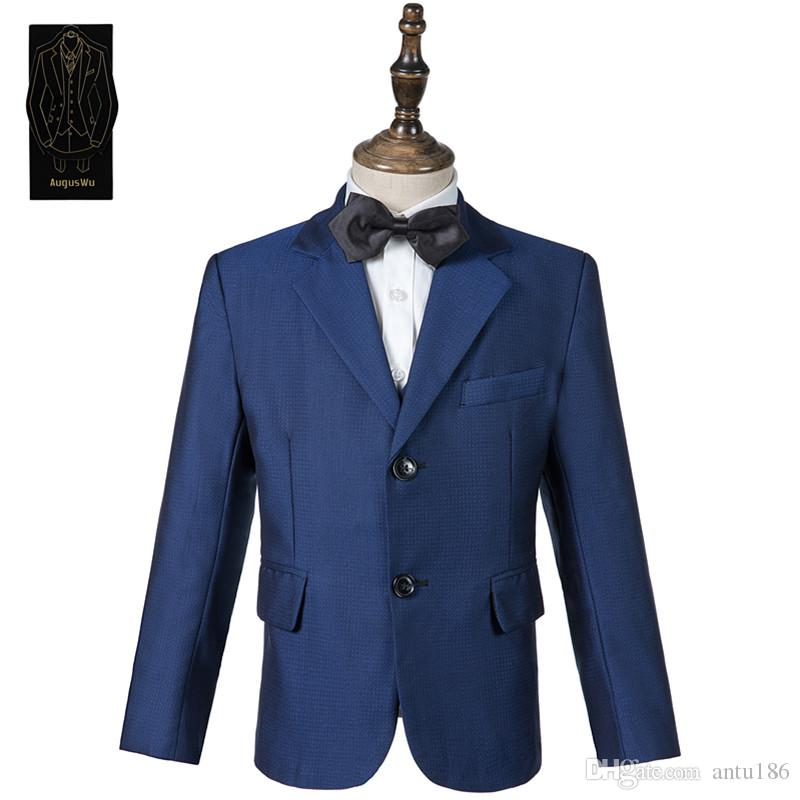 Yüksek kaliteli yüksek kaliteli yün karışımı erkek takım elbise üç parçalı takım elbise (ceket + pantolon + yelek) erkek balo parti resmi elbise destek özelleştirme