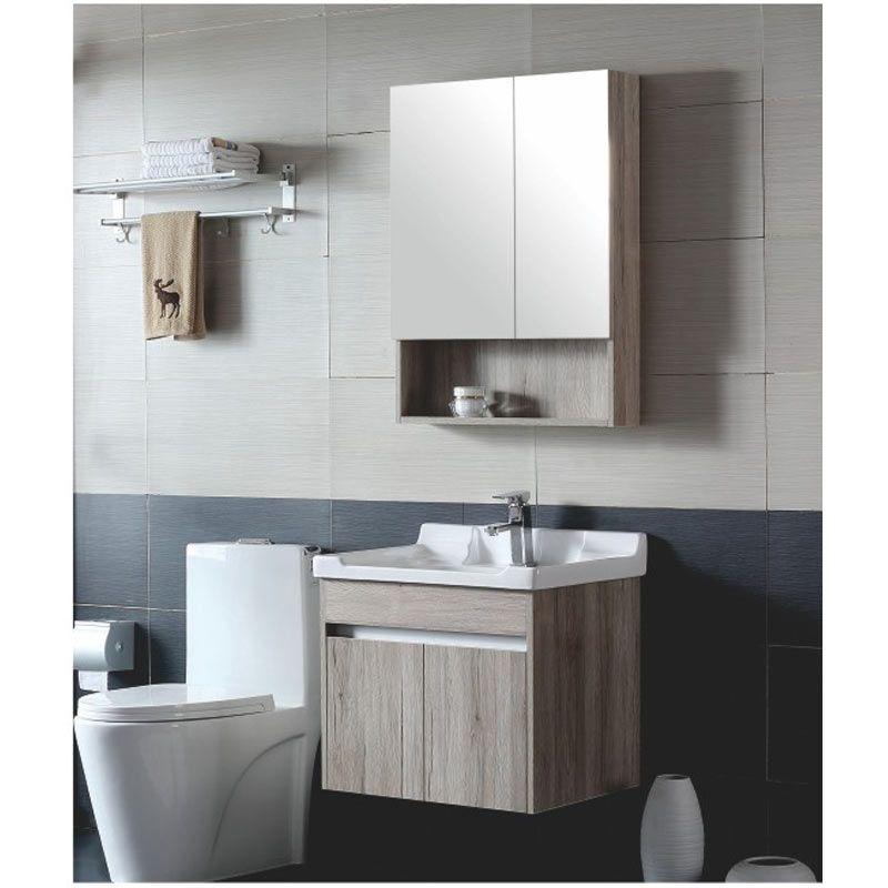 Großhandel Badezimmer Lackfreies Massivholz Kombination Waschbecken  Einfache Moderne Badezimmer Schrank Waschbecken Schrank Badezimmer Schrank  Von ...