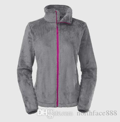 Nuova vendita calda Womens Morbida pile Giacche da uomo all'aperto casual antivento caldo cappotti da donna uomo bambini SoftShell Sportswear rosa nero S-XXL