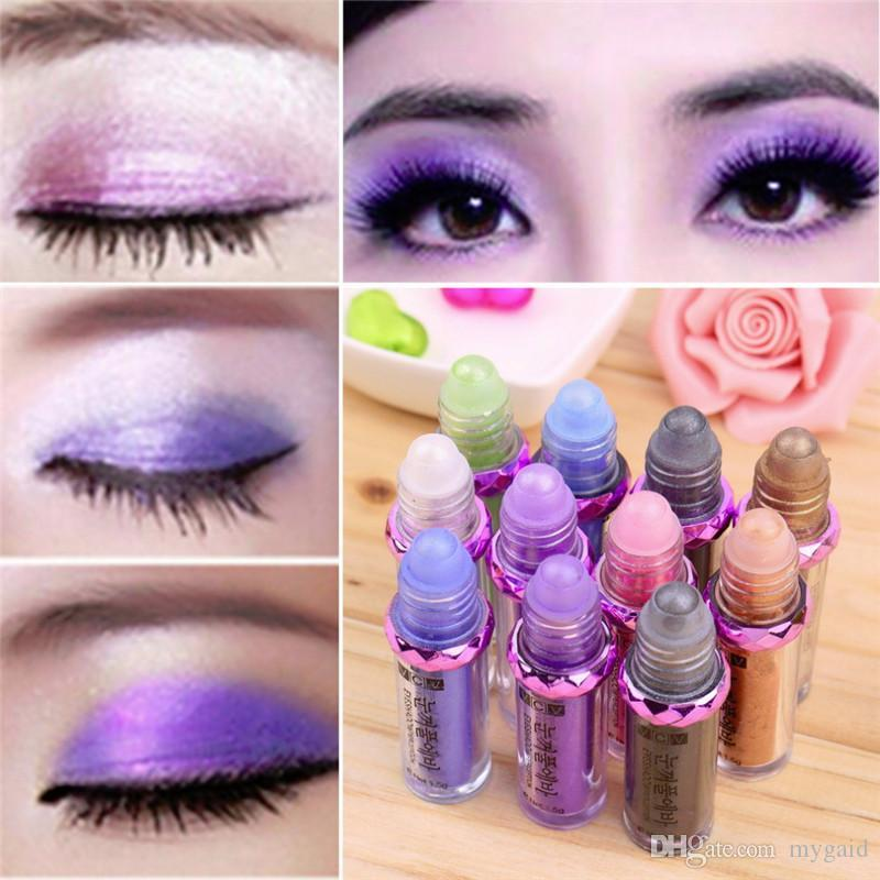 New Sequined Glitter Mineral Eye Shadow Collection Palette 11 Colors Eyeshadow Makeup Mineral Ball Eye Shadow Mix Colors Best Gift