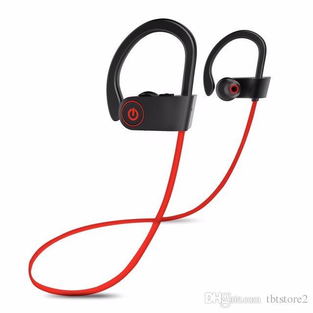 ТБТ U8 Беспроводные наушники Bluetooth 4.1 гарнитура с микрофоном Ear Hook спорта в ухо для Huawei Xiaomi Anrroid