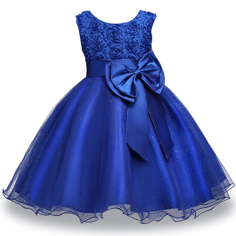 Compre Vestido De Niñas Para Niñas Boda Y Fiesta Vestido De Verano Para Bebés 1 2 3 4 5 6 Años Vestidos De Bebé Lindo Tutu Vestidos De Bebé Formales