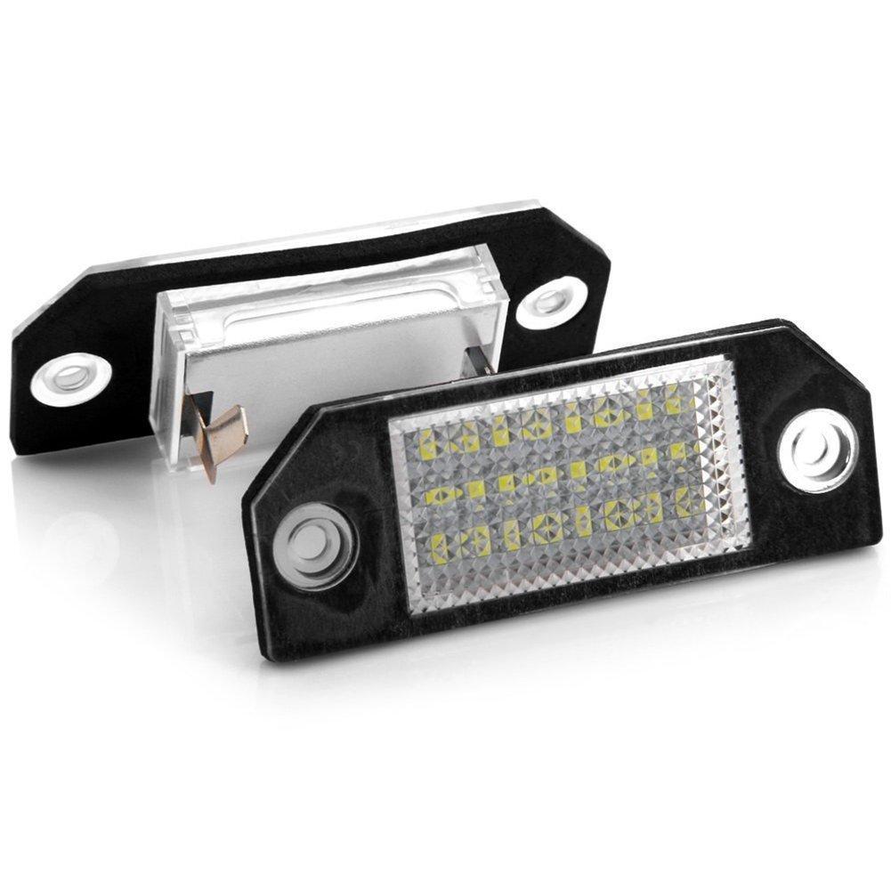 Ford Focus 2 MK2 C-Max 1 MK1 LED Kennzeichen Beleuchtung Nummernschild