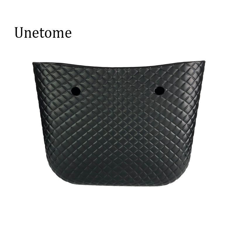 Diamond Grain Pattern Big size body bag waterproof EVA body O bag obag style handbag Rubber Silicon
