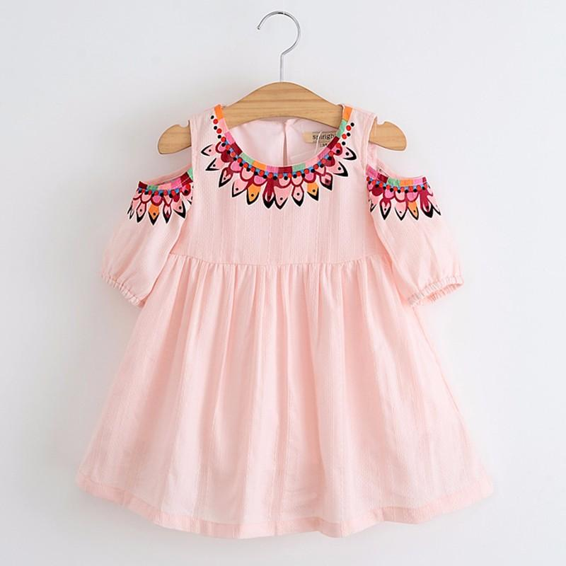 Details about  /2Pcs Toddler Kids Baby Girls Cute Printed Princess Dress+Hat Outfits Set Clothes