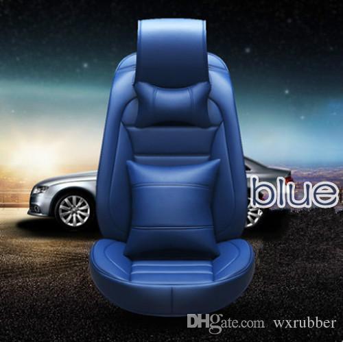 Sport type tapis de voiture quatre saison général PU accessoires intérieurs de voiture confortable ensemble complet de voiture housse de siège