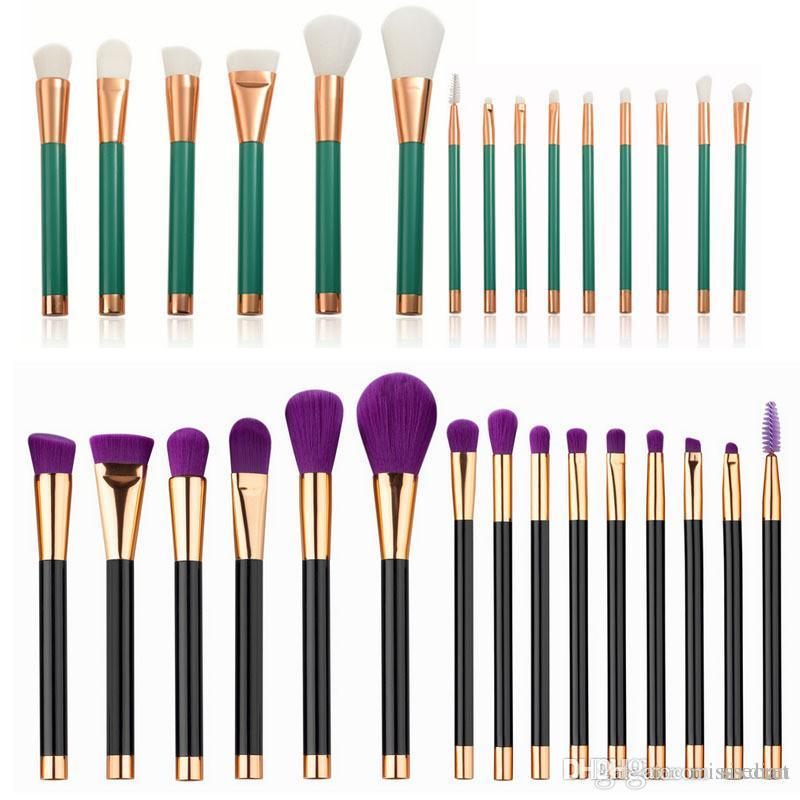 15 Stücke make-up pinsel set professionelle Powder foundation Lidschatten wimpern Lippe Pinsel kosmetik pinsel kits Schönheit Werkzeuge maquiagem