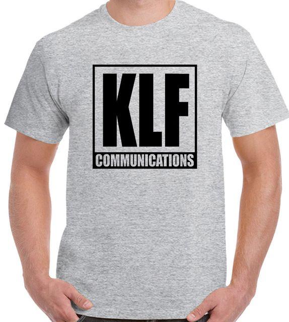 KLF T-Shirt We Love Mens Album Cover The Communications 90s Rave Acid House Top