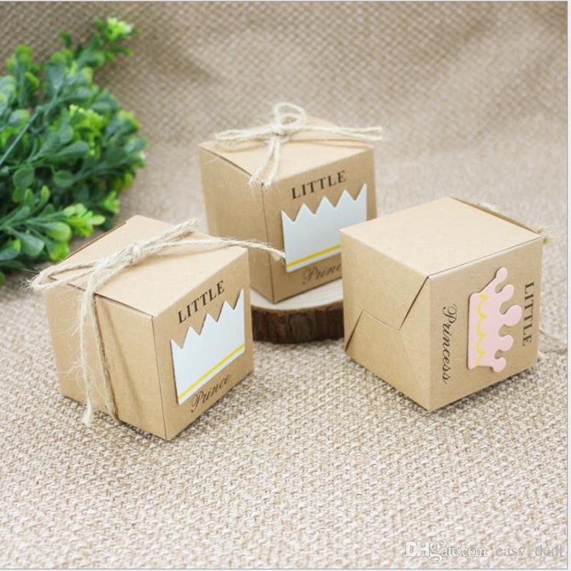 Kwadratowe pudełko pudełko Cukierki Cake Box Chocolate Herbatniki Case Party Wedding Decor Szybkie zakupy JC-035