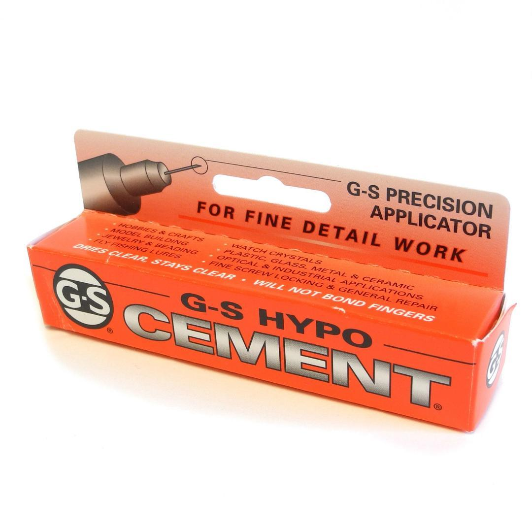 Jewellers G-S Hypo Cement Clear glue for watch glass  pearls findings HA11