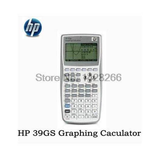1 pezzo Nuovo Calcolatrice grafica originale per HP 39gs Graphics Calculator insegna SAT / AP test per hp39gs
