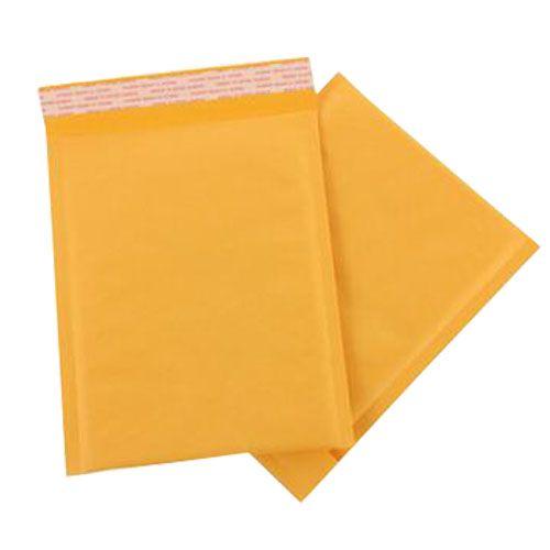 180 * 230 ملليمتر كرافت ورقة فقاعة المغلفات أكياس فقاعات البريدية حقيبة البريد مبطن المغلف الإمدادات التجارية