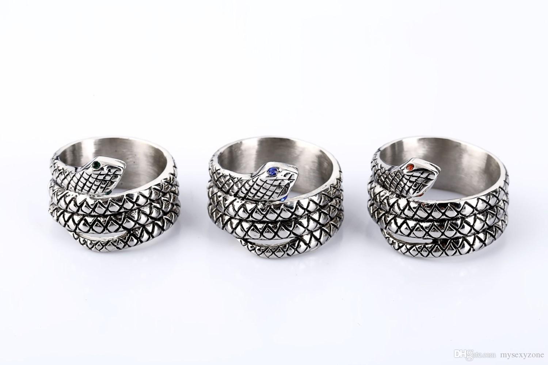 Мода частный дизайн пенис кольцо Glans кольцо змеиная голова стиль металл мужской целомудрие устройство мужской Кобра кольцо для мужчин