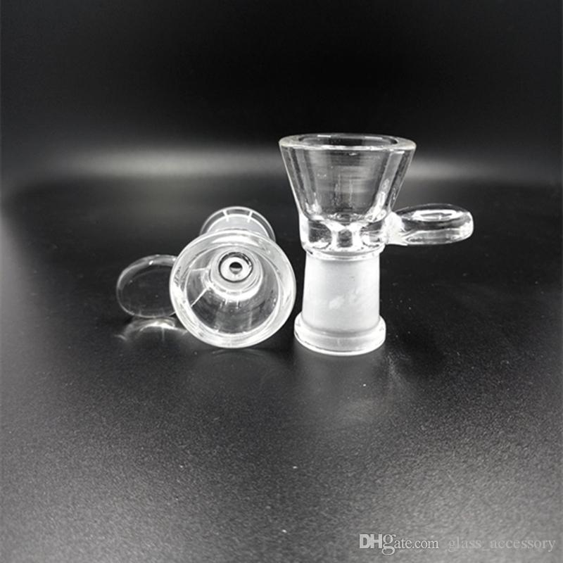 Bowl for Glass Bongs Hookah Bowls Pipes Slides Bong Smoking Color Piece Oil Rigs Pieces 14mm/18mm Slide Dab