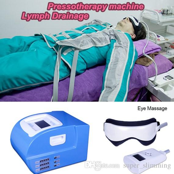 Home salon Pressotherapy air pressure slimming machine for body shaping lymph drainage detox body massage weight loss suit