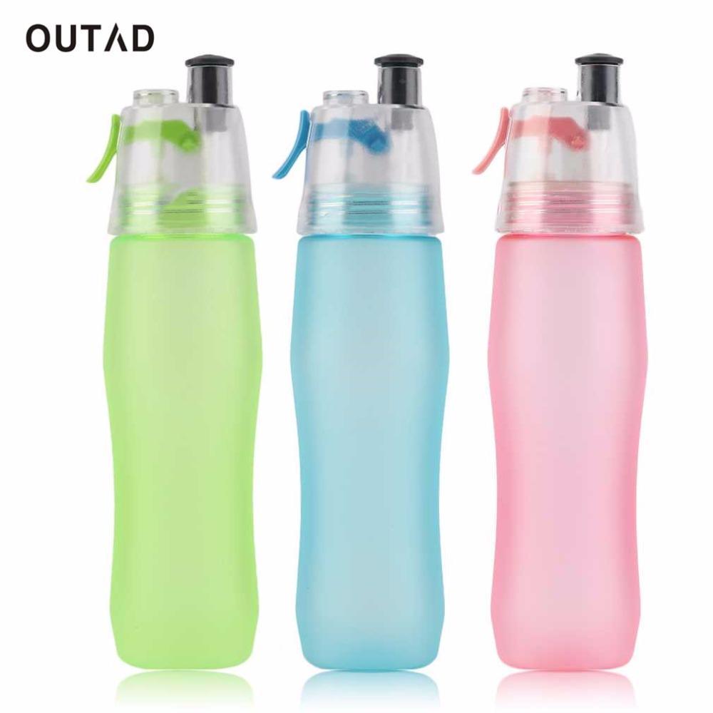 740ML Water Bole Misting Spray Healthy Sport Gym Cycling Camping Hiking Moisturizing Cool Outdoor Fashion Bole Drop shipping