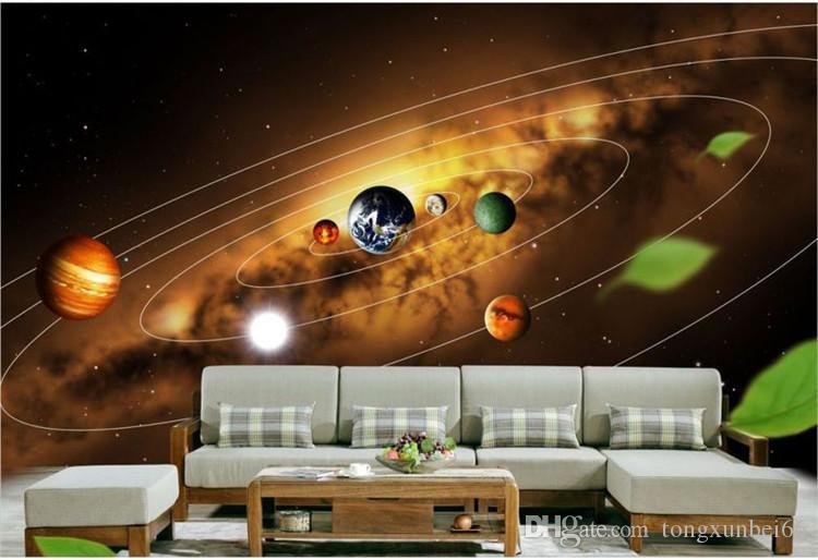 3d mural estrellas noche con papel pintado azul mar papel de parede sofá dormitorio tv mural papel pintado
