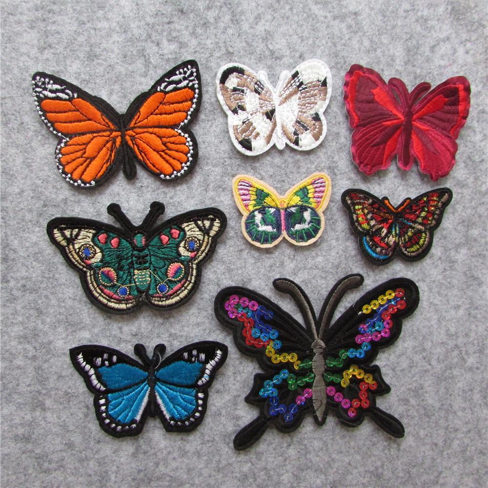 Farfalle Fai Da Te acquista farfalle patch abbigliamento ferro ricamato appliques accessori  abbigliamento fai da te toppe abbigliamento tessuti distintivi a 1,99 € dal