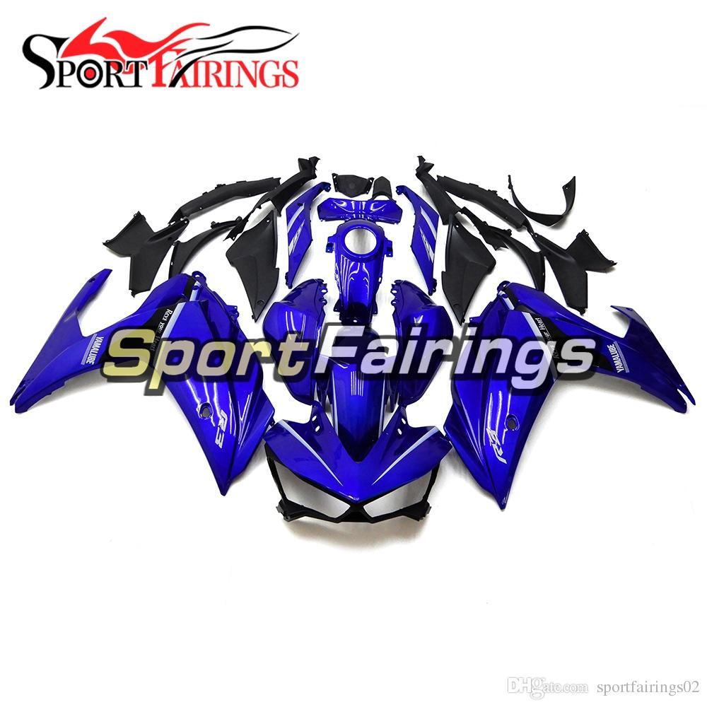 Blue Injection Fairings For Yamaha R25 R3 2015 2016 Plastics ABS Fairings Motorcycle Full Bodywork Covers Body Kit Cowls Frames Hulls