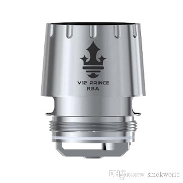 Autentico SMOK V12 Prince RBA Core con doppia bobina 0.25ohm V12 TFV12 Prince Coil per TFV12 Prince Tank 100% originale di Elego