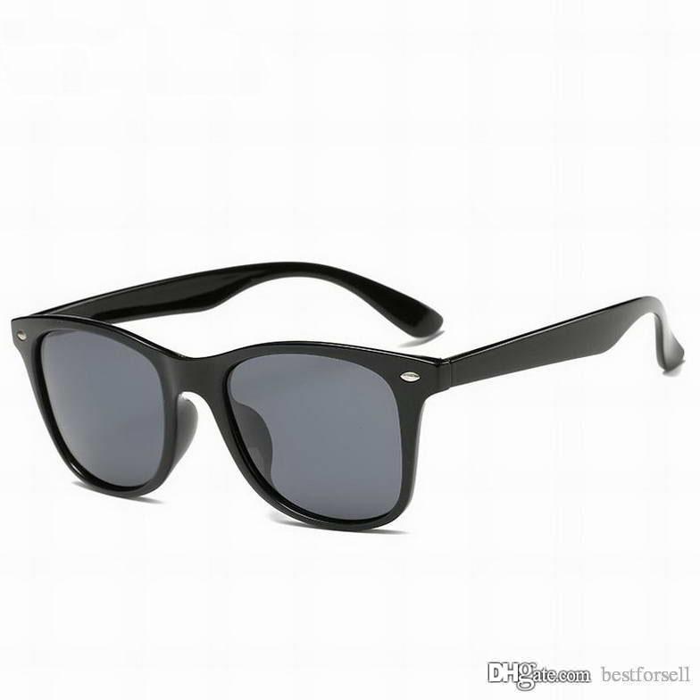 New Classic Óculos De Sol Dos Homens Do Olho de Gato 52mm Óculos de Sol Marca Designer Retro Cool para Mulheres Óculos de Proteção Shades com casos