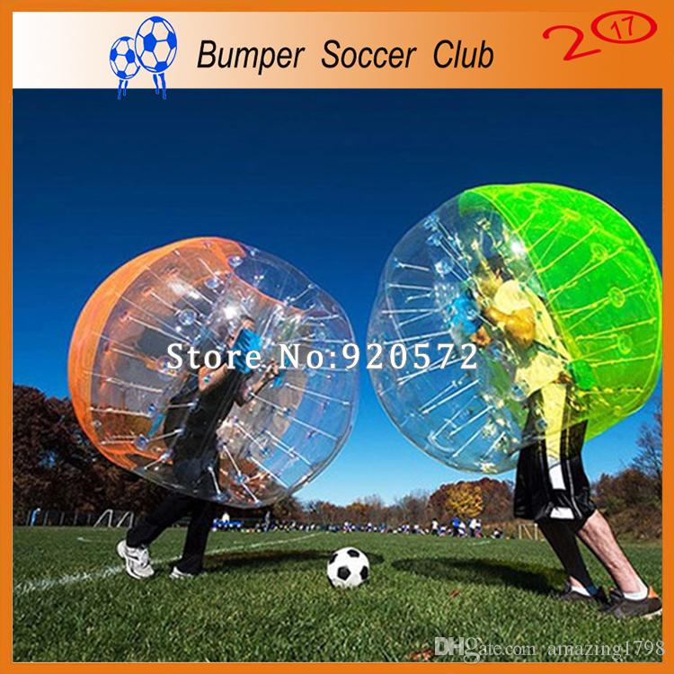 Free Shipping Inflatable Human Hamster Ball For kids Bubble Soccer Ball Zorb Balloon Bumper Ball
