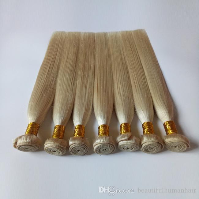 Бразильские девственные прямые человеческие волосы плетет #613 женщина популярные 8-26 дюймов норки перуанский Реми волос утка 10bundles дешевые фабрики оптовая цена