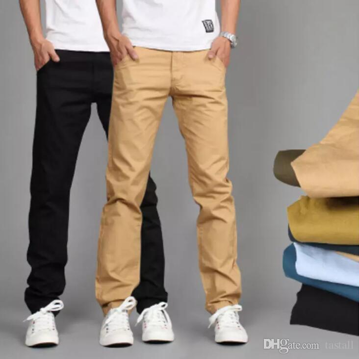 2020 Mens Straight Cargo Pants New