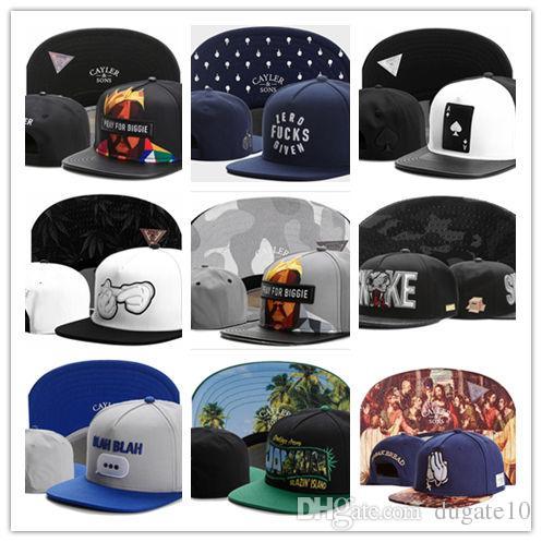 Nouvelle mode réglable CAYLER SONS snapbacks Chapeaux casquettes snapback Cayler et fils chapeau chapeaux de baseball cap hater diamond snapback cap