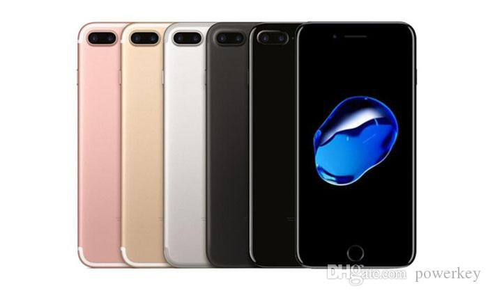 الأصلي تجديد ابل اي فون 7 iphone7 رباعية النواة 4.7 2GB RAM 32GB / 128GB / 256GB ROM IOS 12MP بصمة 4G LTE الهاتف مقفلة