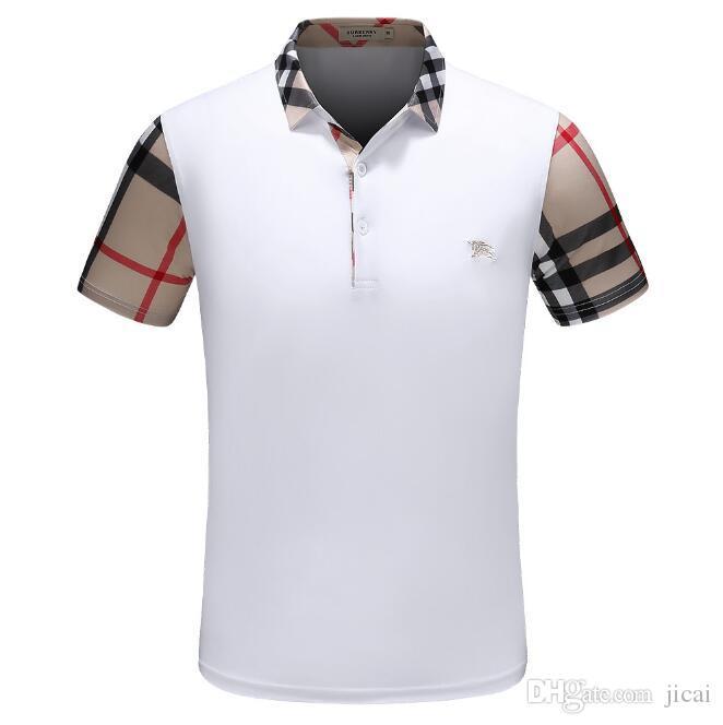 2018 وصول نمط جديد من T-shirt أعلى جودة المألوف القطن تي شيرت الرجل التي شيرت T-D902 الرجال تصميم العلامة التجارية